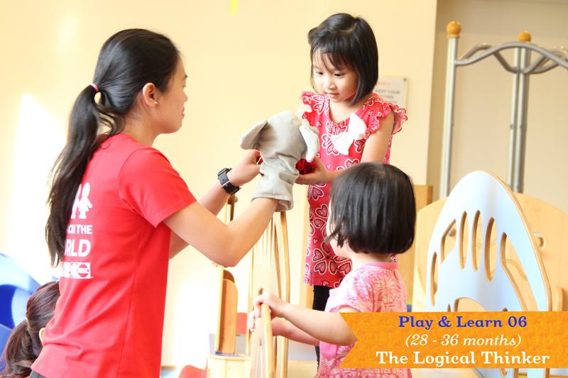 Giáo dục sớm Gymboree - Lớp Play & Learn 6