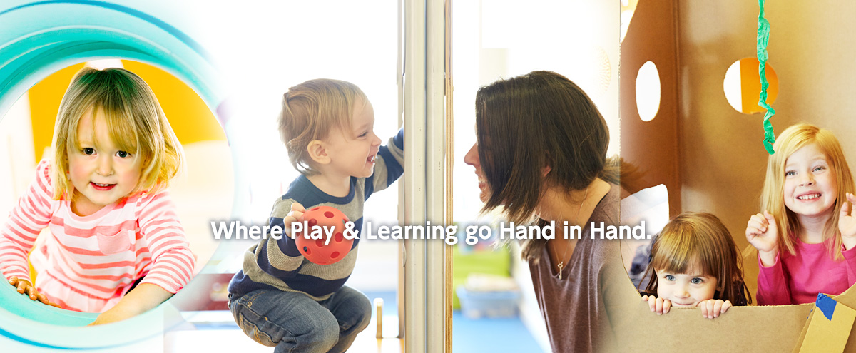 Play & Learn go hand in hand