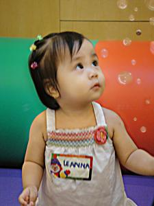 Gymboree Class is a wonderful experience for Leanna!
