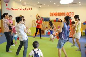 A Joyful moon at Gymboree