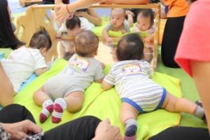 Gymboree class bring positive behavior for my children!