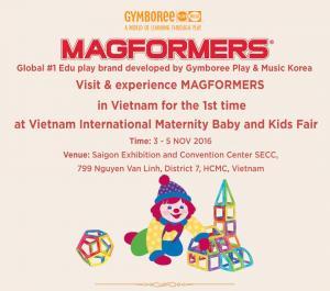 Cùng trải nghiệm đồ chơi giáo dục MAGFORMERS lần đầu tiên tại Việt Nam