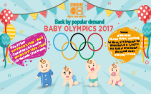 Baby Olympics 2017 - Back by popular demand
