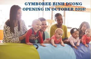 Gymboree Play & Music khai trương trung tâm Bình Dương!