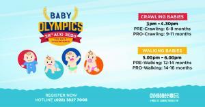 BABY OLYMPICS (Tháng 8 / 2020)