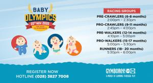 BABY OLYMPICS (Tháng 11 / 2020)